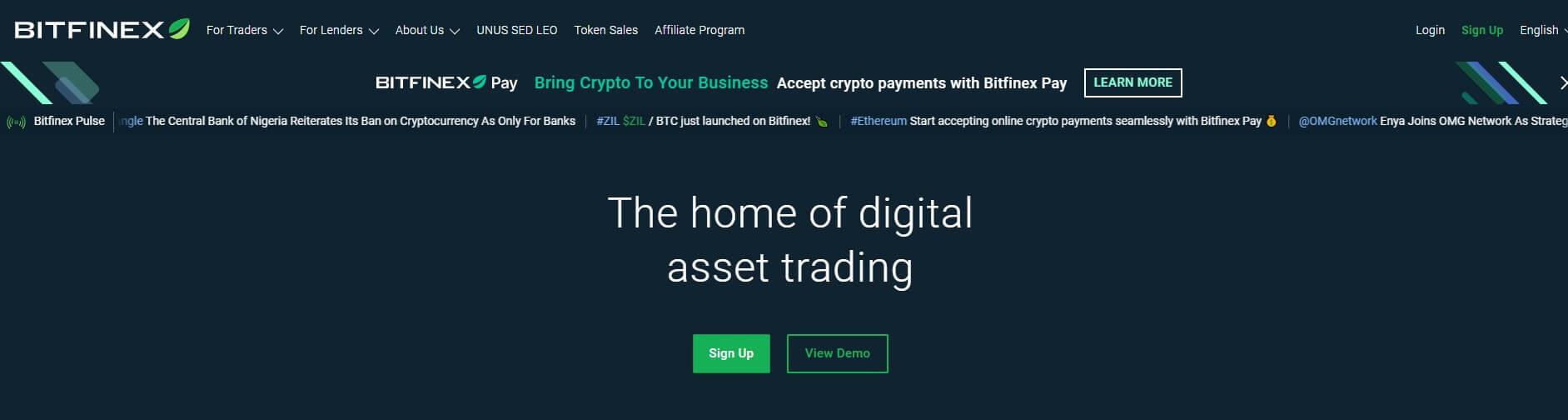 bitfinex-homepage