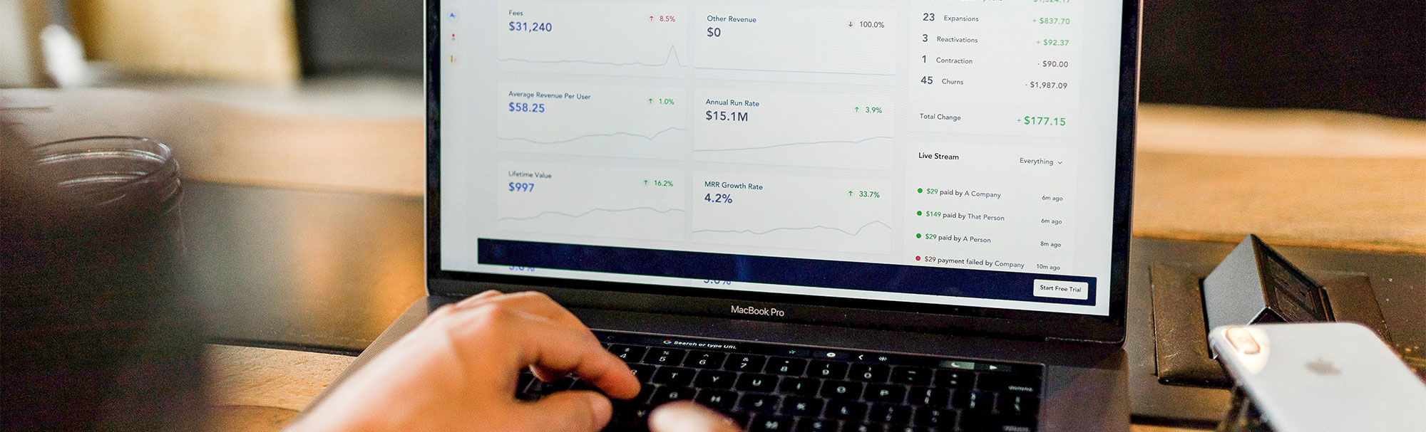 Laptop with cryptocurrency