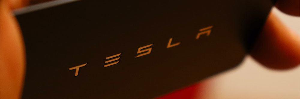 Tesla business card