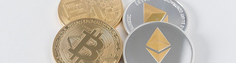 Bitcoin and Ethereum side by side
