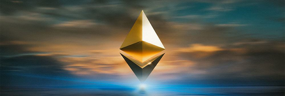 Creative editing of Ethereum logo