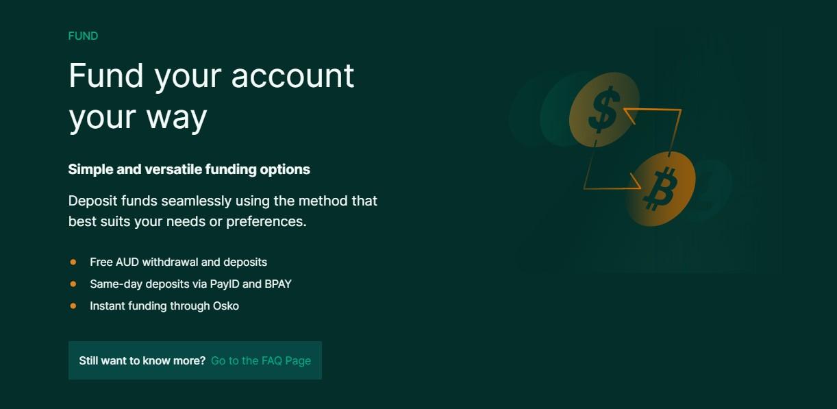 BTC market exchange funding