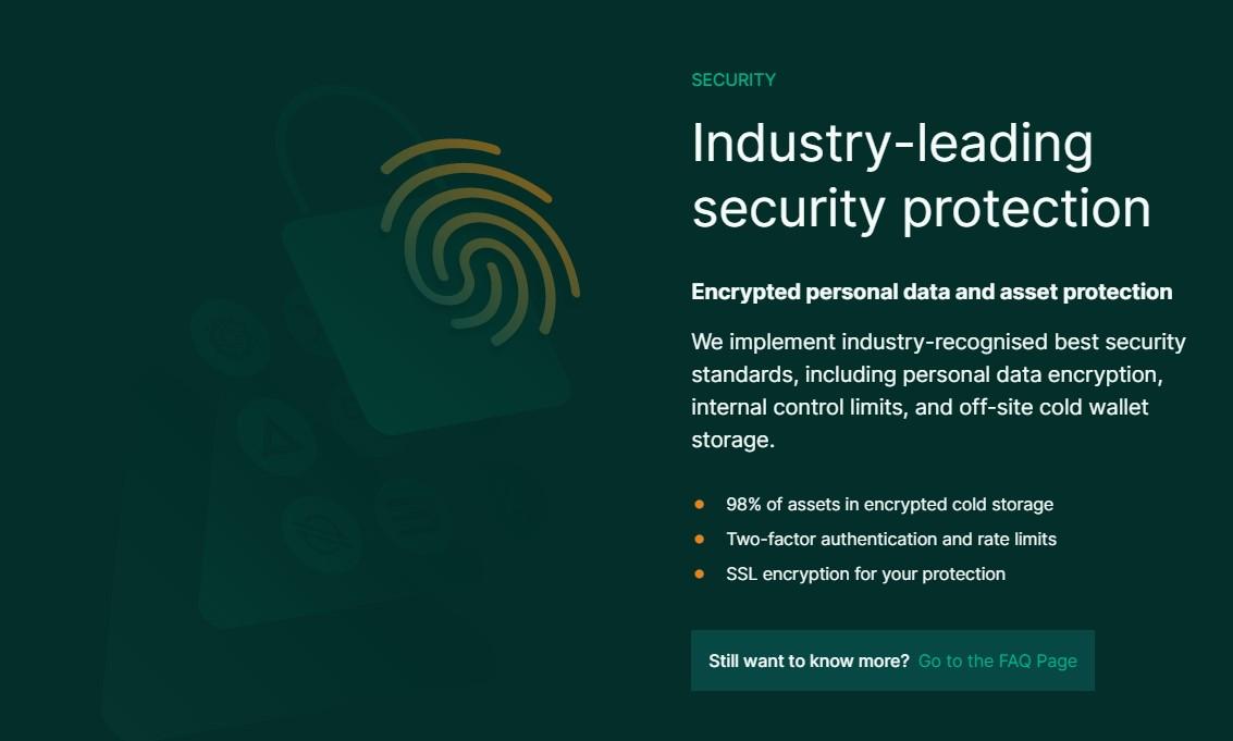BTC Markets security features