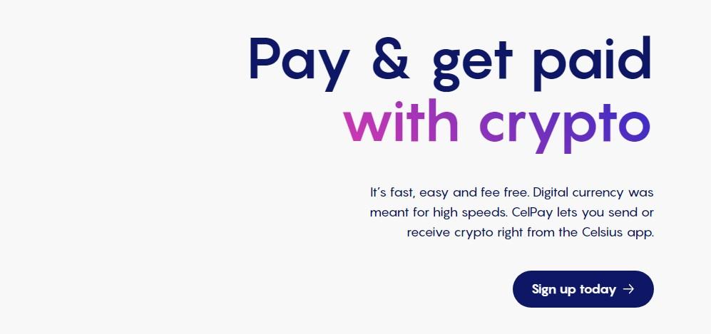 Celsius Network's CelPay