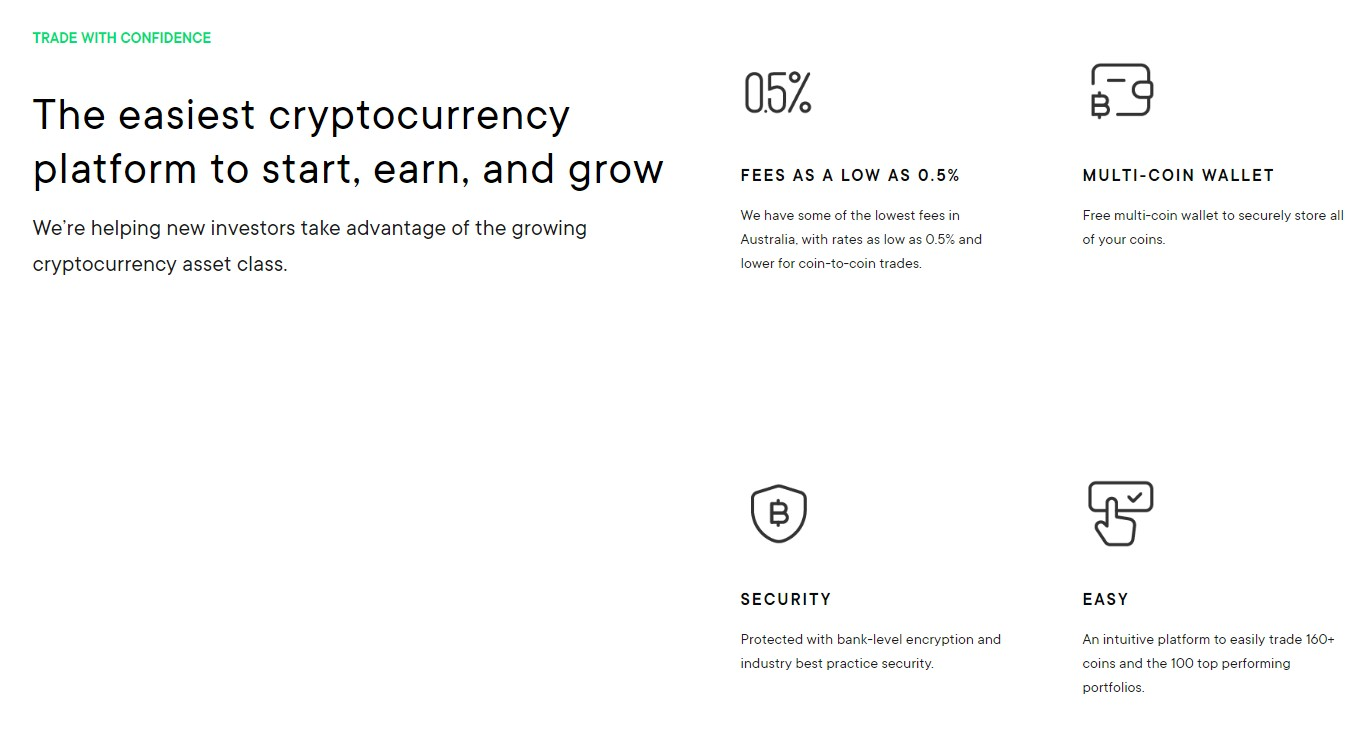 Cointree exchange features