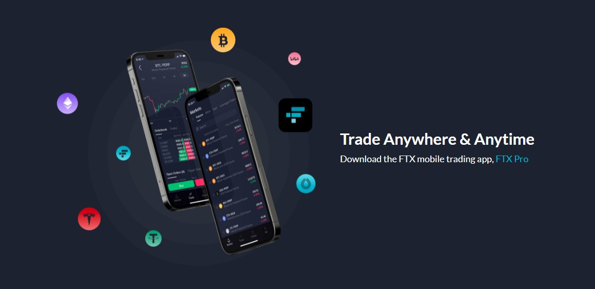 FTX exchange products
