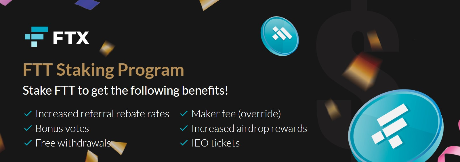 FTX staking program page