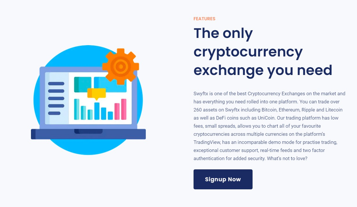 Swyftx exchange features
