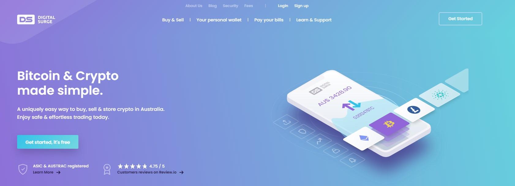 Digital Surge homepage