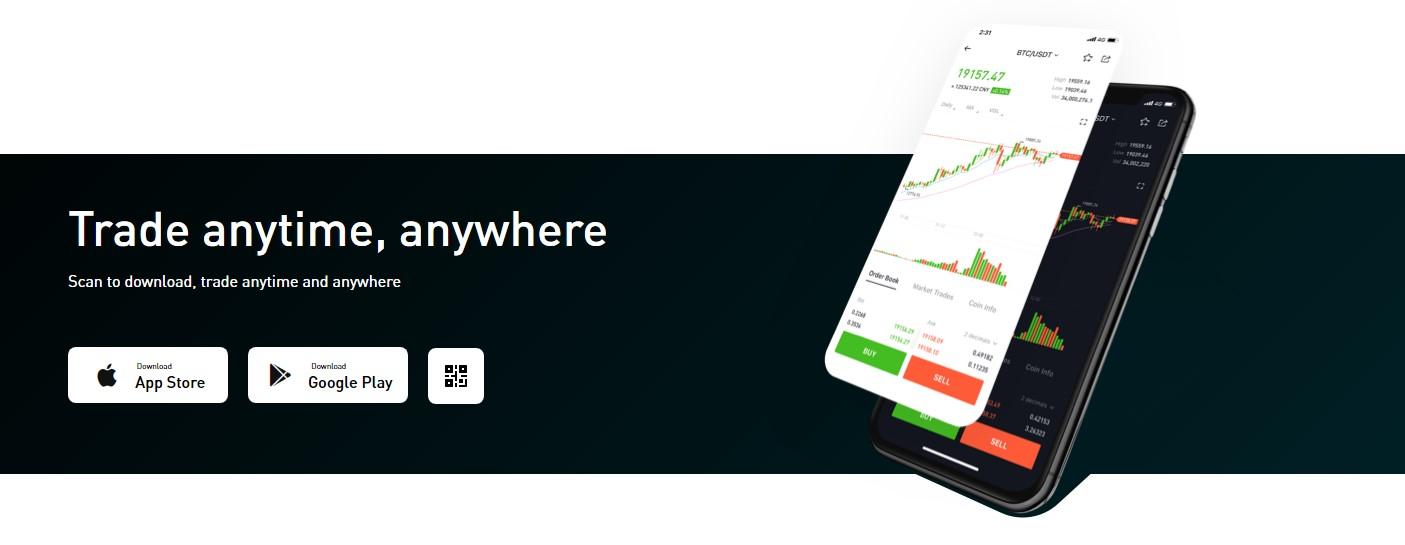 Bitmart product app