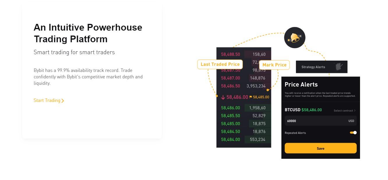 Bybit trading platform