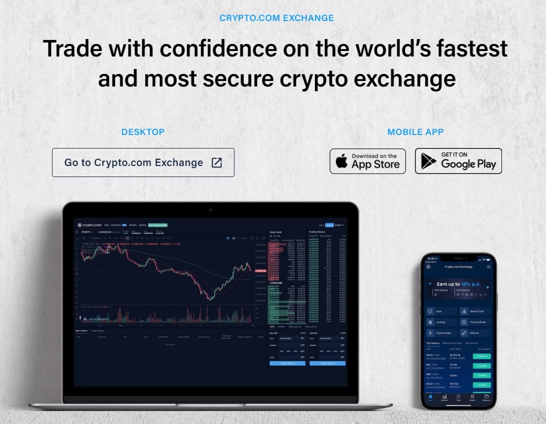 Crypto.com products