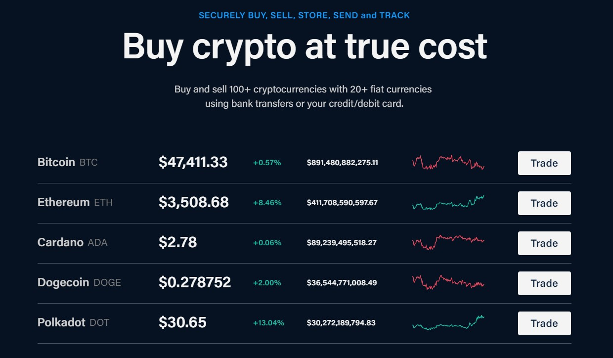 Crypto.com Supported cryptocurrencies