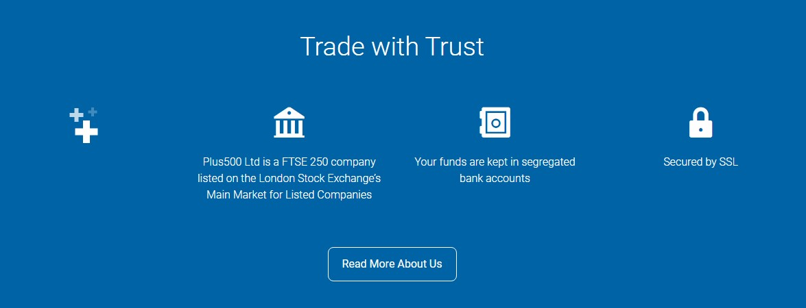 PLus500 exchange features