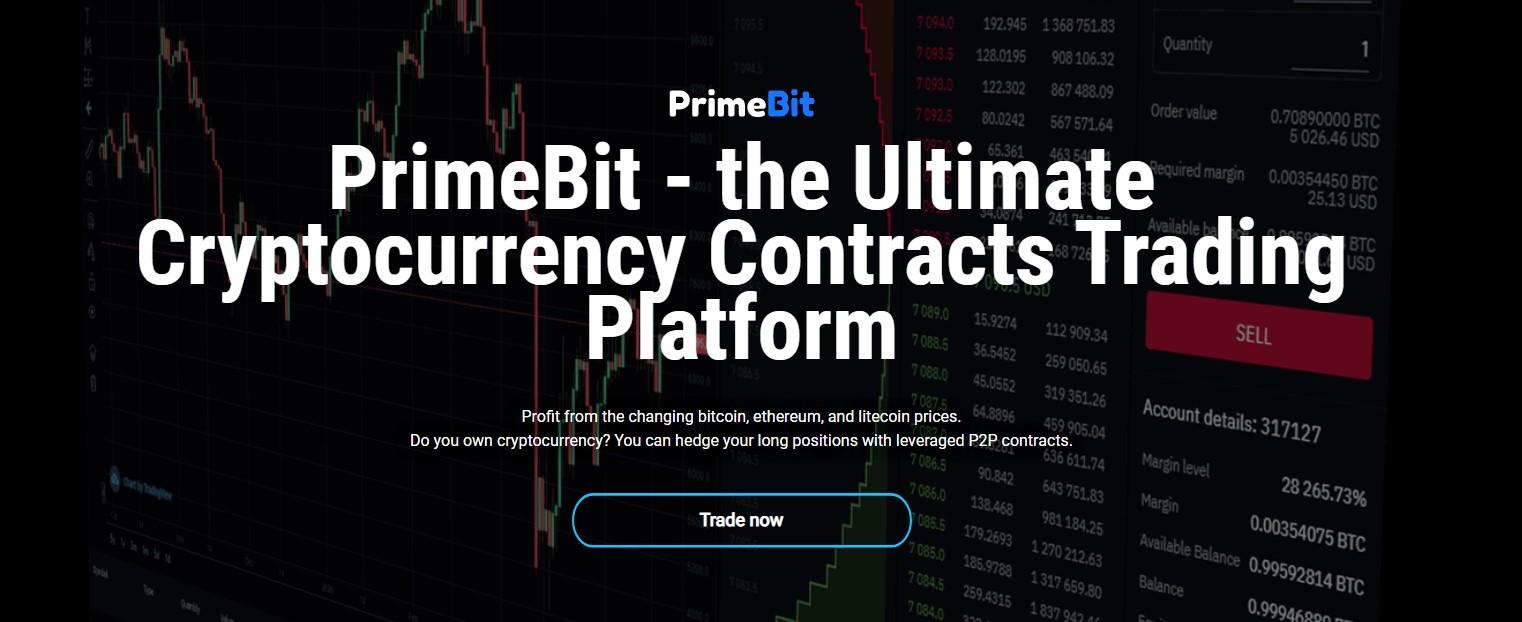 PrimeBit Web Trader