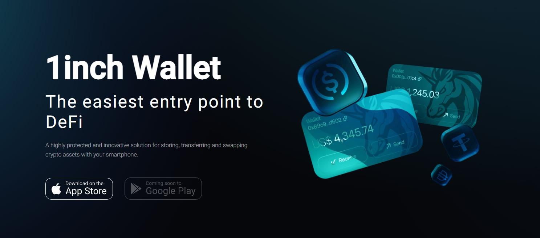 1inch exchange wallet
