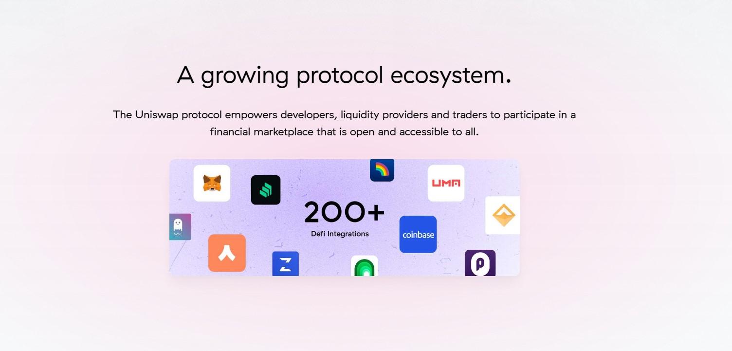 Uniswap protocol page